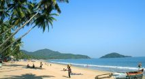 Shore of Kovalam Beach