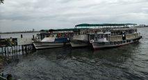 Boats using for transportation